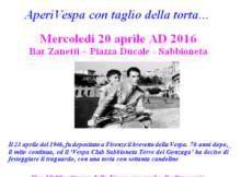 Festa 70 anni Vespa Piaggio Sabbioneta (MN) 2016
