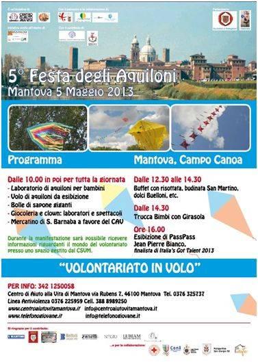 Festa Aquiloni Mantova 2013