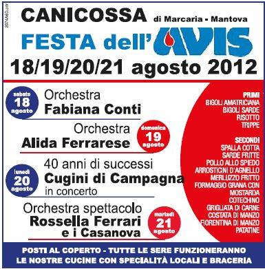 Festa Avis 2012 Canicossa di Marcaria (Mantova)