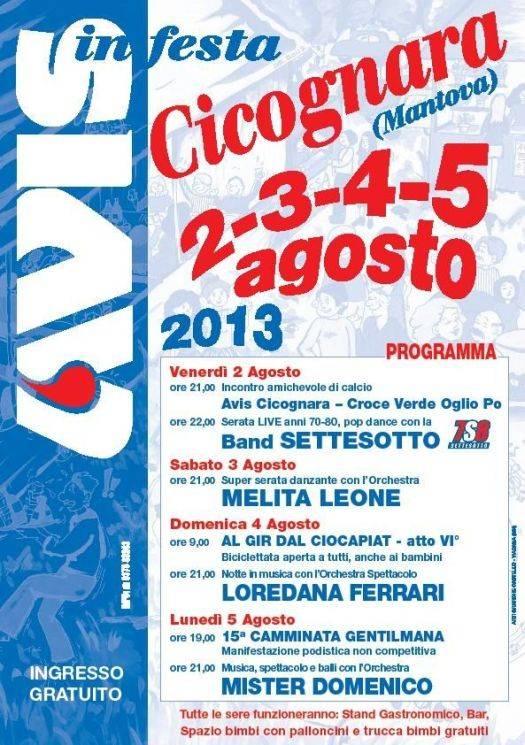 Festa Avis Cicognara (Mantova) 2013