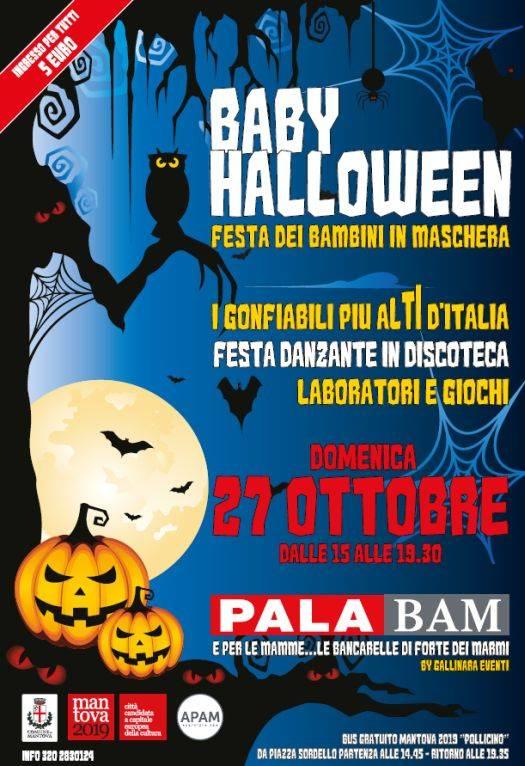 Festa Halloween 2013 Mantova per bambini