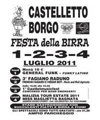 2011 Festa Birra Castelletto Borgo Mantova