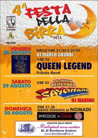 Festa della Birra Guidizzolo (MN) 2015