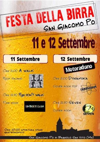 Festa Birra San Giacomo Po (MN) 2015