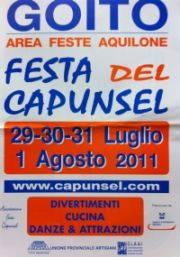 Festa del Capunsel 2011 Goito (MN)