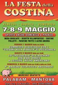Festa della Costina 7-8-9 Maggio 2010 Palabam Mantova