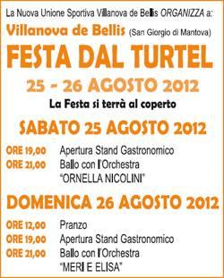 Festa dal Turtel 2012 Villanova de Bellis (Mantova)