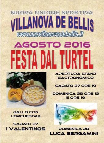 Festa dal Turtel 2016 Villanova De Bellis (MN)