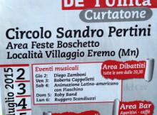 Festa dell'Unità 2015 Boschetto Eremo Curtatone (MN)