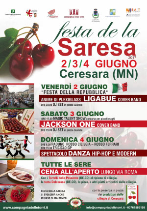 Festa de la Saresa 2017 Ceresara (MN) - festa della ciliegia
