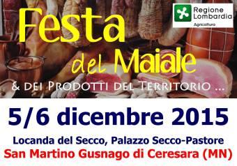 Festa del Maiale 2015 San Martino Gusnago (MN)