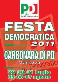 Festa Democratica 2011 Carbonara di Po (Mantova)