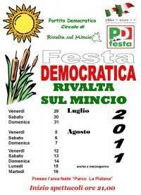 Festa PD Rivalta sul Mincio (Mantova) 2011