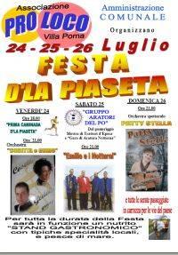 Festa d'la Piaseta
