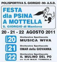 Festa dla Psina 2011 Mottella San Giorgio di Mantova
