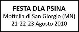 Festa dla Psina a Mottella di San Giorgio di Mantova