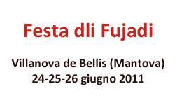Festa dli Fujadi 2011 Villanova de Bellis