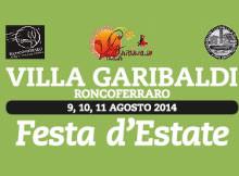 Festa d'estate 2014 Villa Garibaldi di Roncoferraro (Mantova)