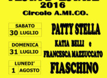 Festa estate 2016 Correggio Micheli (MN)