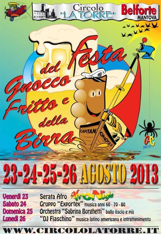 Belforte (Mantova) Festa del Gnocco Fritto e della Birra 2013