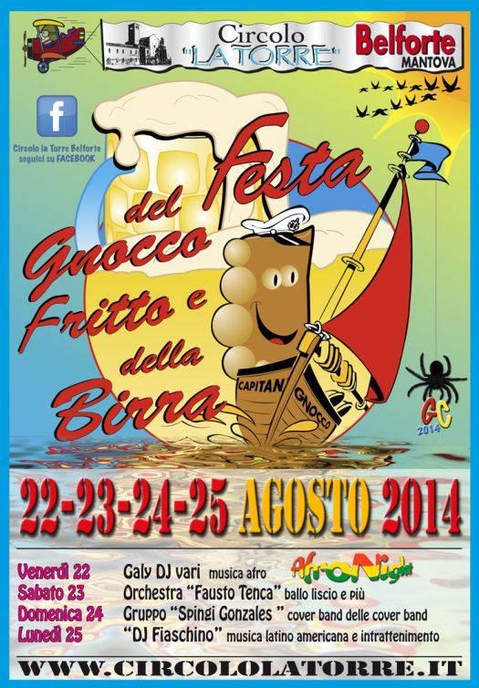 Festa Gnocco Fritto e Birra 2014 Belforte (Mantova)