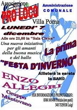 Prima Festa Inverno a Villa Poma (Mantova)