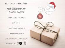 Festa Natale 2016 Studenti Università Archiettura Mantova