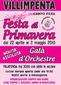 Festa di Primavera 2010 a Villimpenta