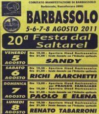 Festa dal Saltarel Barbassolo di Roncoferraro (Mantova) 2011