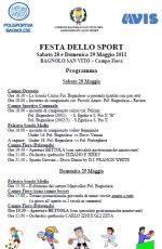 Festa dello Sport 2011 Bagnolo San Vito (Mantova) - Polisportiva Bagnolese