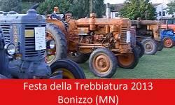 Festa della Trebbiatura Bonizzo (Mantova) 2013
