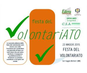 Festa del Volontariato 2015 Correggio Micheli (Mantova)