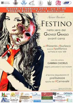 Festino carnevale 2015 Poggio Rusco (Mantova)