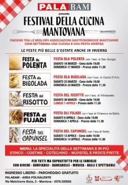 Festival Cucina Mantovana Palabam Mantova