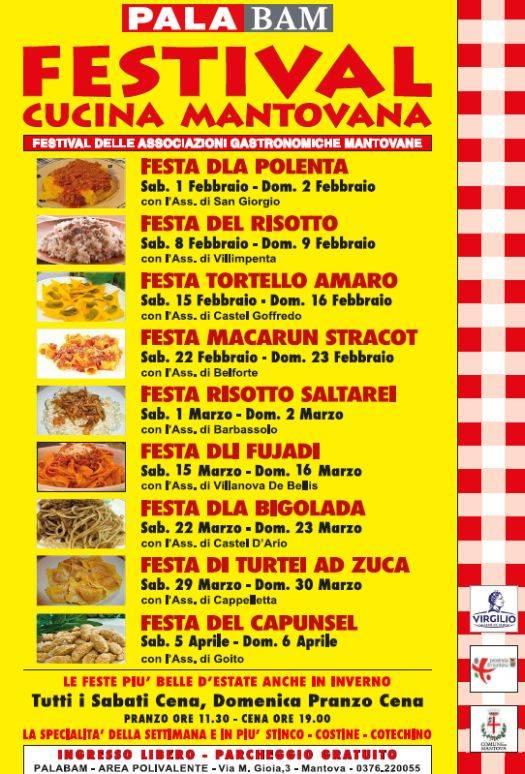 Festival Cucina Mantovana 2014 Palabam Mantova
