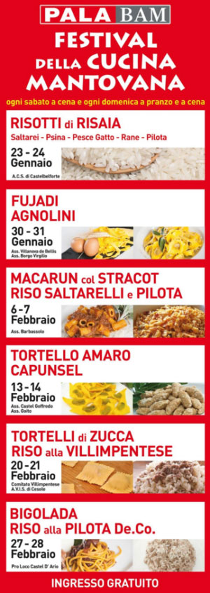 Festival della Cucina Mantovana 2016 Palabam Mantova