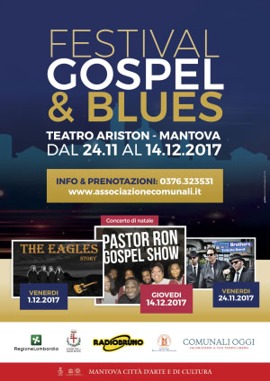 Festival Gospel Blues Mantova 2017
