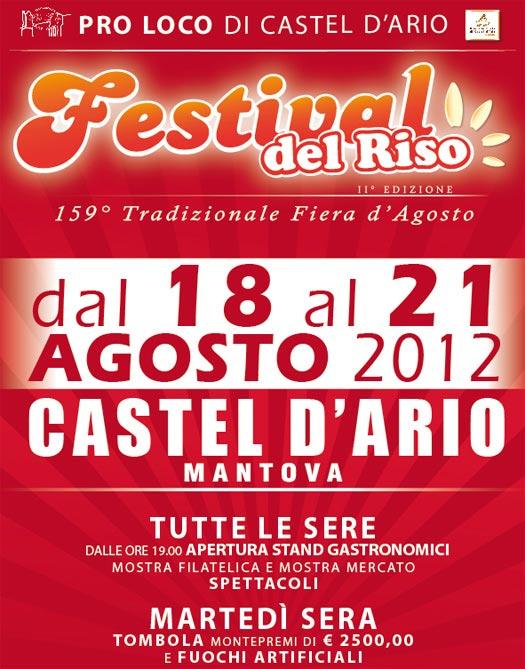 Festival del Riso 2012 Casteldario (Mantova)