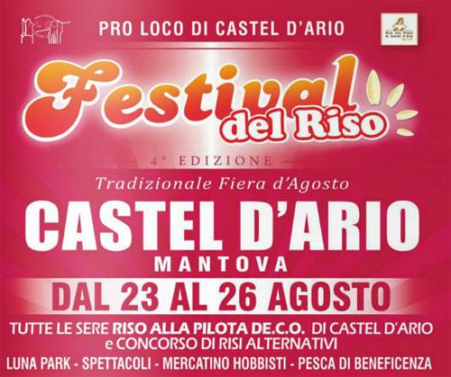Festival del Riso 2014 Castel d'Ario (Mantova)