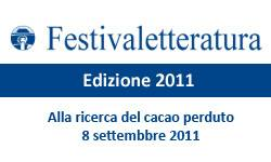 Alla ricerca del cacao perduto - Festivaletteratura 2011 Mantova