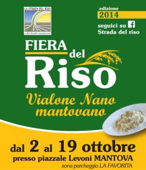 Fiera del Riso Vialone Nano Mantovano 2014 Mantova