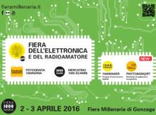 Fiera elettronica Gonzaga 2-3 aprile 2016