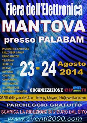 Fiera dell'Elettronica 2014 Mantova Palabam
