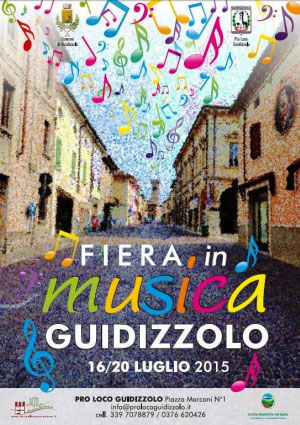 Fiera in musica 2015 Guidizzolo (Mantova)