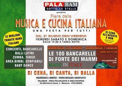 Fiera Musica e Cucina Italiana 2013 Mantova Palabam