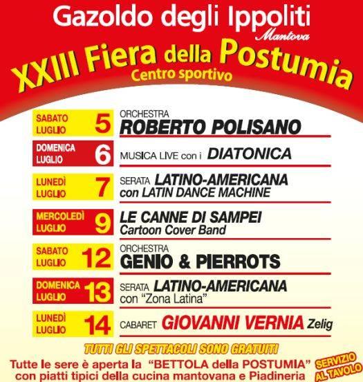 Fiera della Postumia 2014 Gazoldo degli Ippoliti (Mantova)