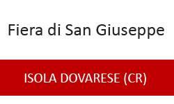 Fiera di San Giuseppe 2013 Isola Dovarese (Cremona)