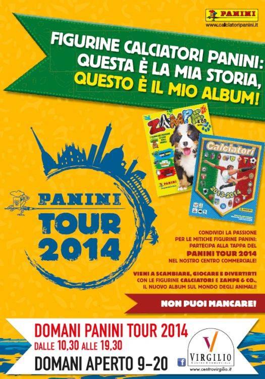 Panini Tour 2014 Mantova Centro Commerciale Virgilio