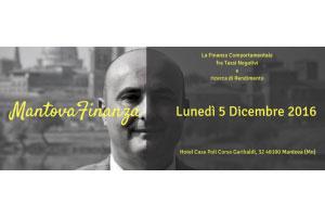 Mantova Finanza Comportamentale Mauro Valentino