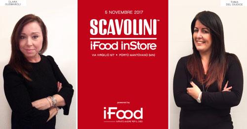 food blogger Tania Del Giudice e Clara Gusmaroli Mantova Scavolini Store